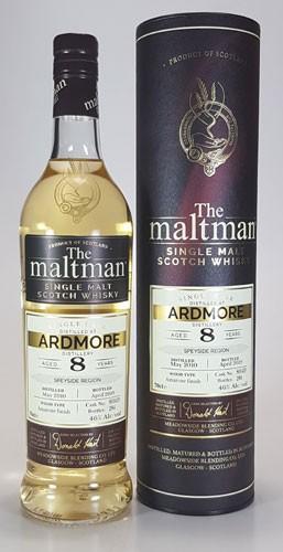 Ardmore 8 y.o. Amarone Finish The Maltman