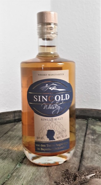 "Sin Gold ""Single Malt Whisky"""