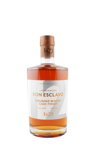1423 Ron Esclavo, Ron Dominicana, 12 Jahre, Stauning Whisky Cask Finish, Limited-Copy