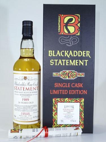 Bunnahabhain 26 y.o. Blackadder Raw Cask Statement No. 25