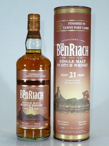 BenRiach 21 y.o. Tawny Port Finish
