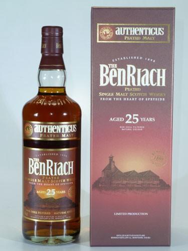 BenRiach 25 y.o. Authenticus