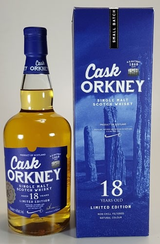 Cask Orkney 18 y.o. A.D. Rattray