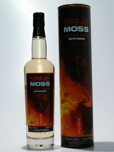 Birnie Moss Intensely Peated Single Malt Whisky (BenRiach)