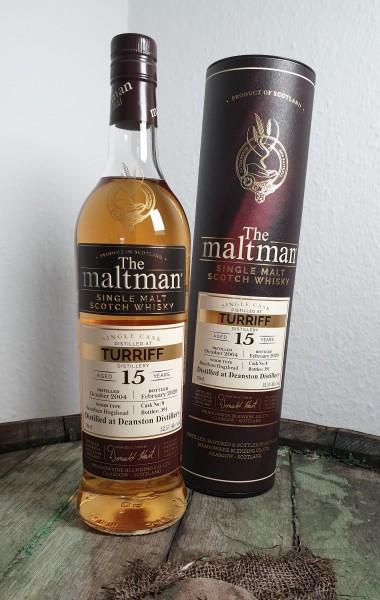 The Maltman 15 y.o. Turriff (Deanston)