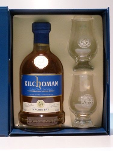 Kilchoman Machir Bay 2015 Glas Box