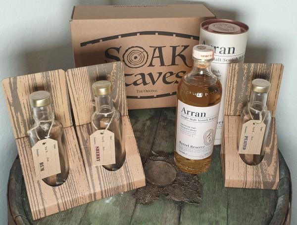 Whisky Finishing Set Sherry, Rum, Peat
