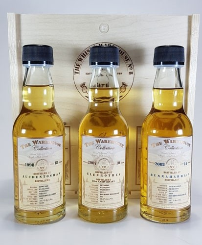 The Whisky Warehouse No. 8 Holzbox Scotland Selection