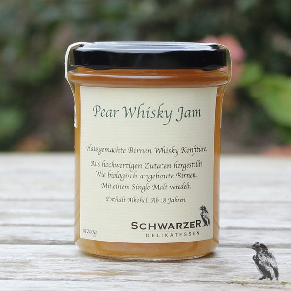 Pear Whisky Jam