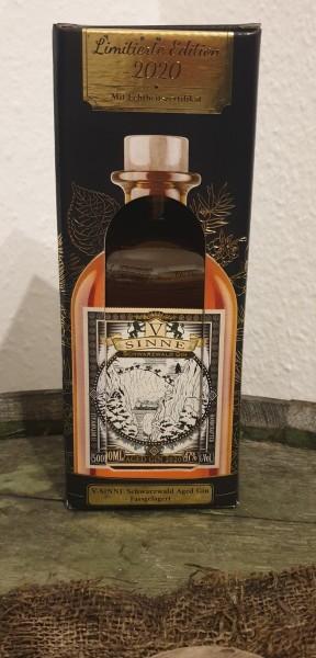 V-Sinne Aged Gin Limited 2222 Flaschen