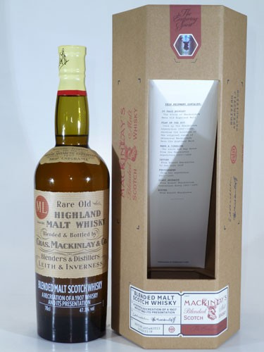 Shackleton's Mackinley Rare Old Highland Malt Whisky