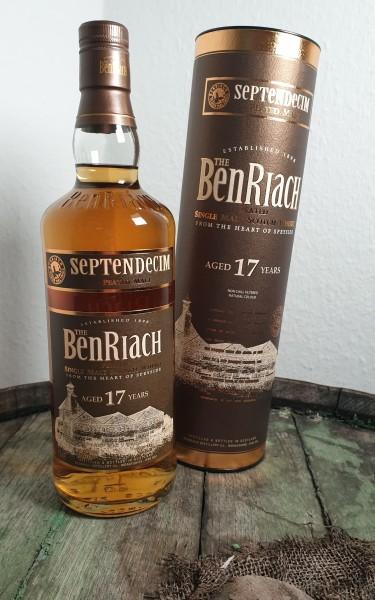 BenRiach 17 Septendecim peated