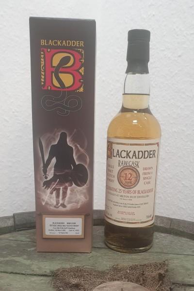 Miltonduff 12 y.o. Blackadder Raw Cask