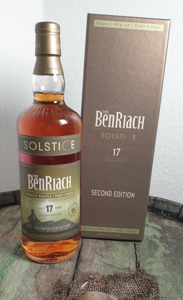 BenRiach 17 Solstice