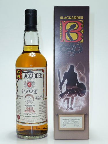 Amrut Sherry Blackadder Raw Cask