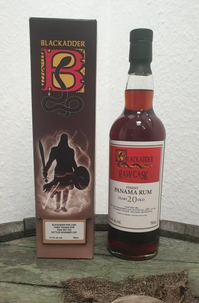 Panama 20 y.o. Rum Blackadder Raw Cask